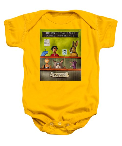 The International Cyclops Conference Edit 3 Baby Onesie