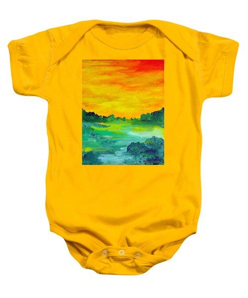 The  Lagoon Baby Onesie