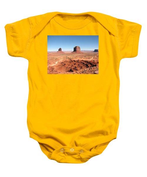The Mittens Utah Baby Onesie