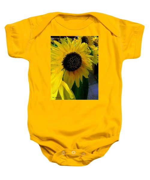 The Sun King Baby Onesie