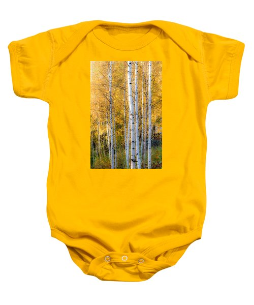 Thin Birches Baby Onesie