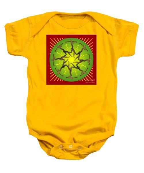 Tribal Warriors Baby Onesie