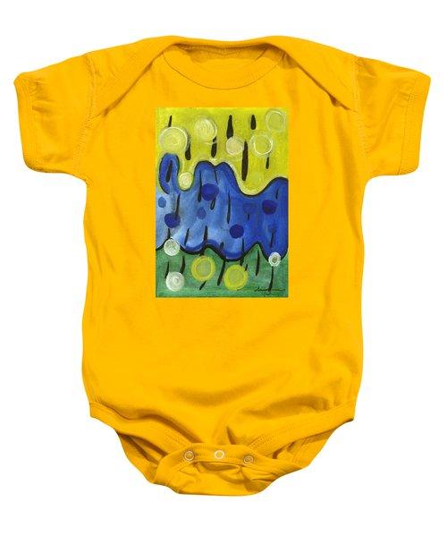 Tropical Rain Baby Onesie