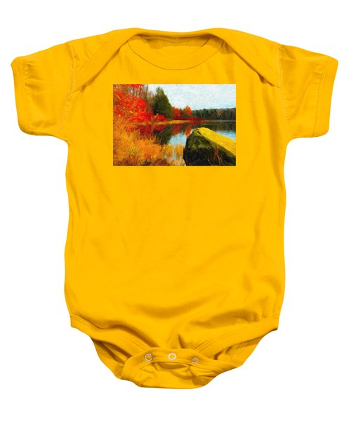 View From The Rock Baby Onesie