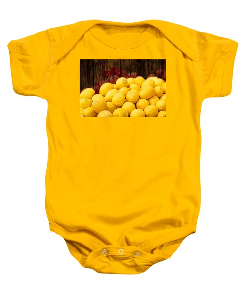 Vitamin C Baby Onesie