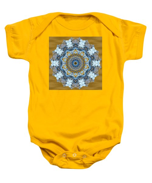 Water Patterns Kaleidoscope Baby Onesie