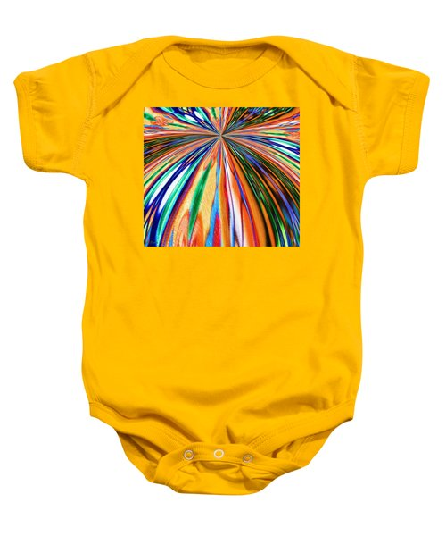 Where It All Began Abstract Baby Onesie