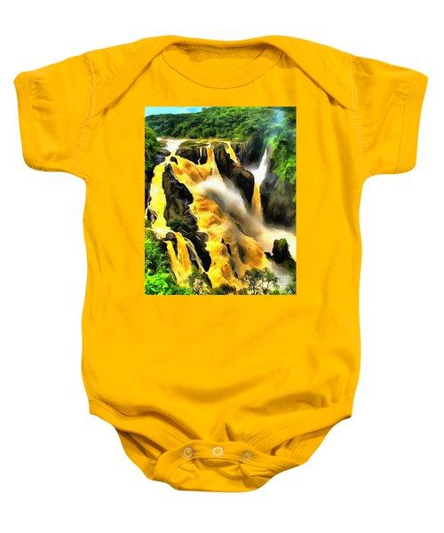 Yellow River Baby Onesie