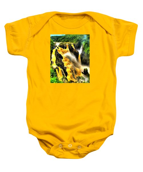 Yellow River Baby Onesie