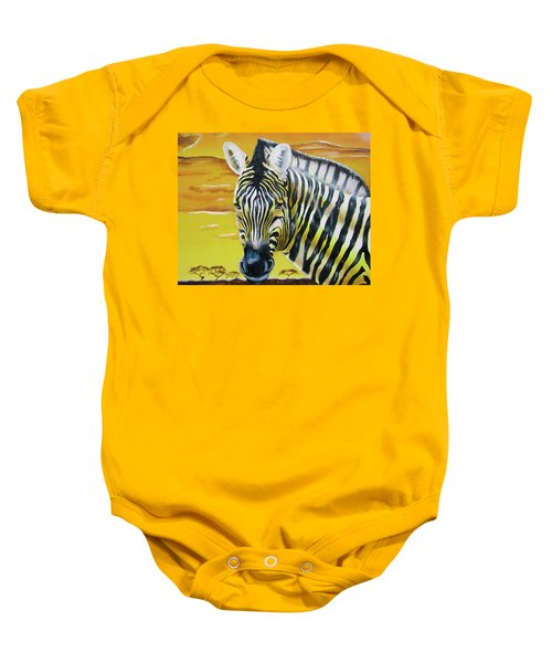 As Day As Night Baby Onesie