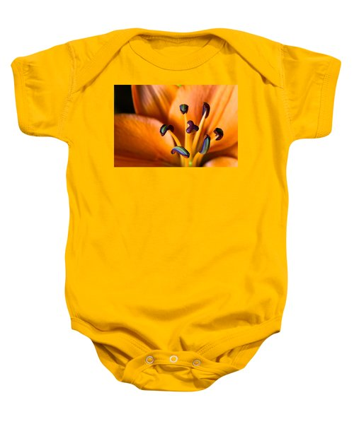 Tiger Lily Baby Onesie