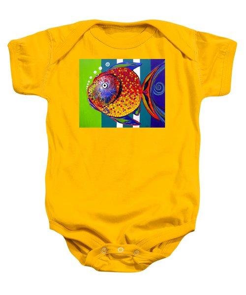 Acidfish 60 Baby Onesie