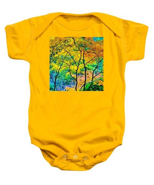Canopy Of Life Baby Onesie