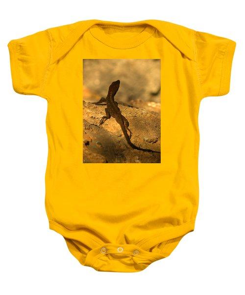 Leapin' Lizards Baby Onesie
