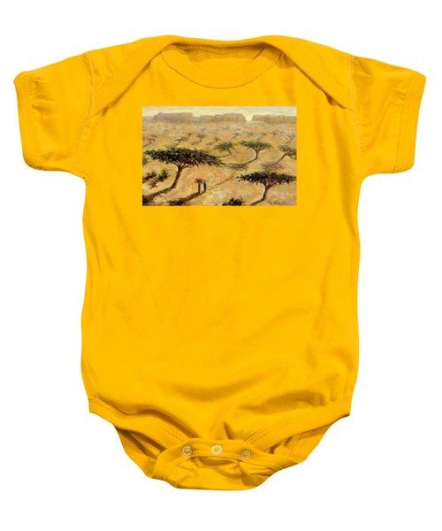Sahelian Landscape Baby Onesie