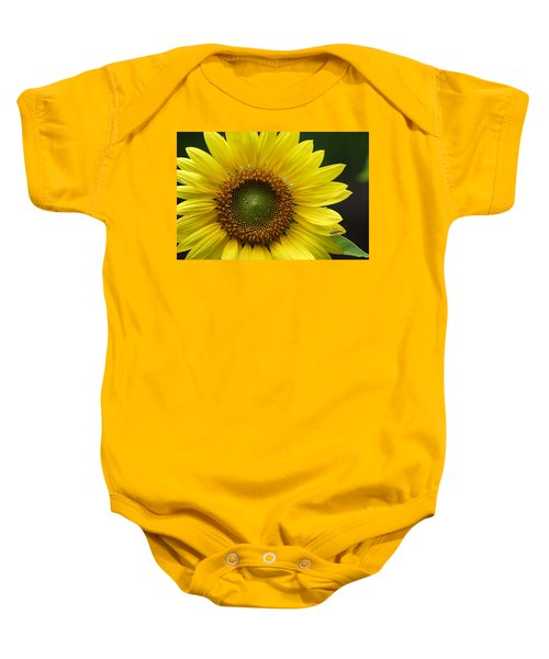 Sunflower With Insect Baby Onesie