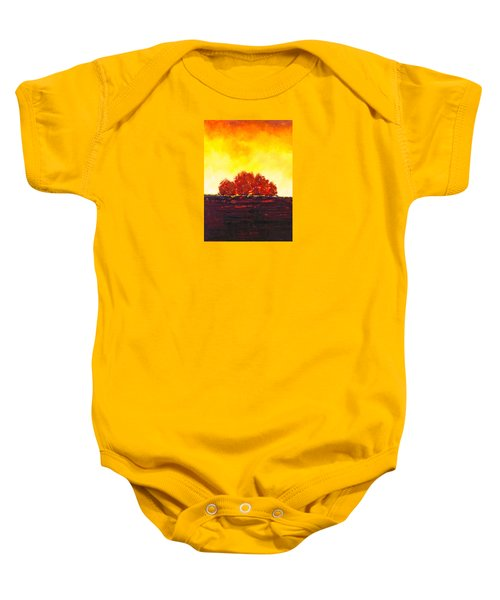 Big Red Baby Onesie