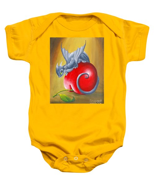 Cherry Dragon Baby Onesie