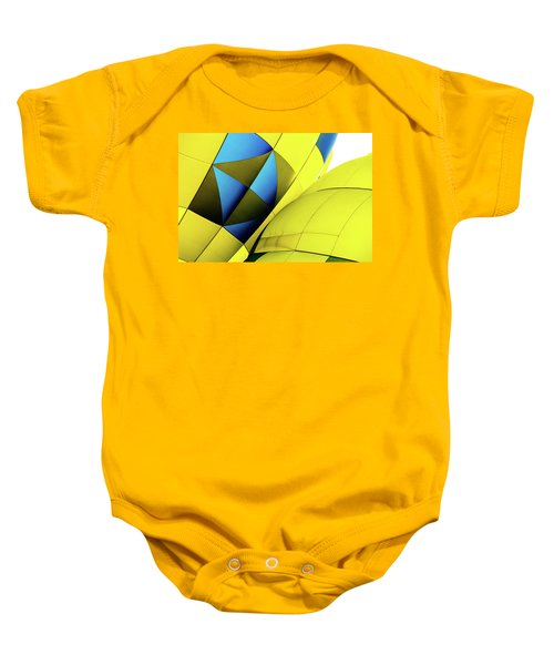 Colorful Abstract Hot Air Balloons Baby Onesie