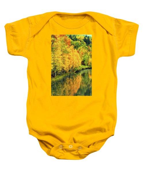 Cushman Lake  Baby Onesie