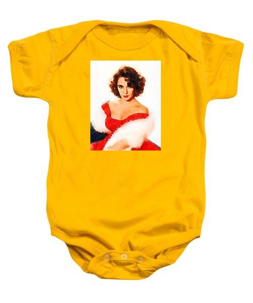 Elizabeth Taylor Baby Onesie