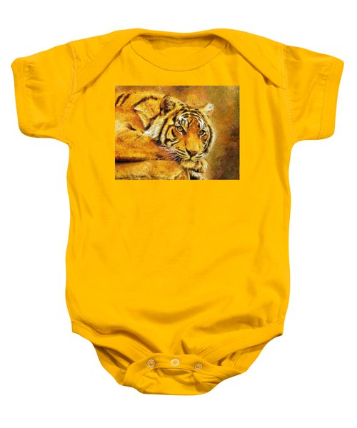 Eye Of The Tiger Baby Onesie