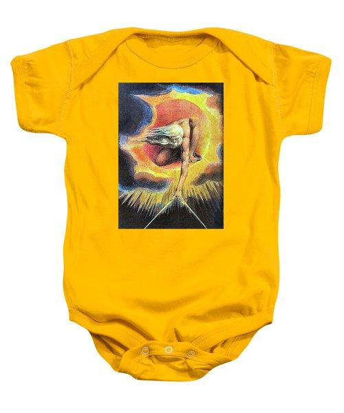 God As Architect Baby Onesie