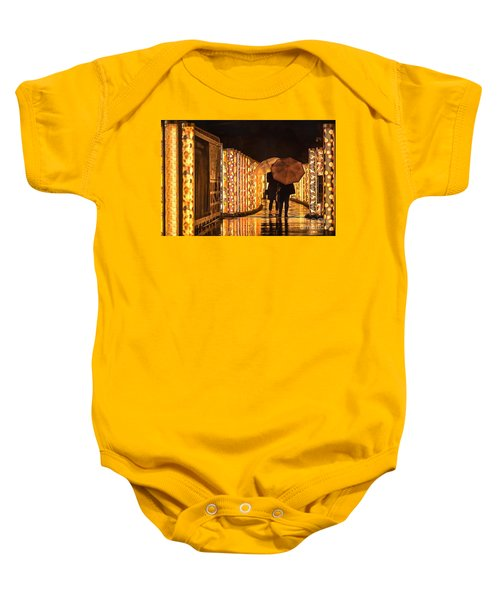 In The Kimono Forest Baby Onesie