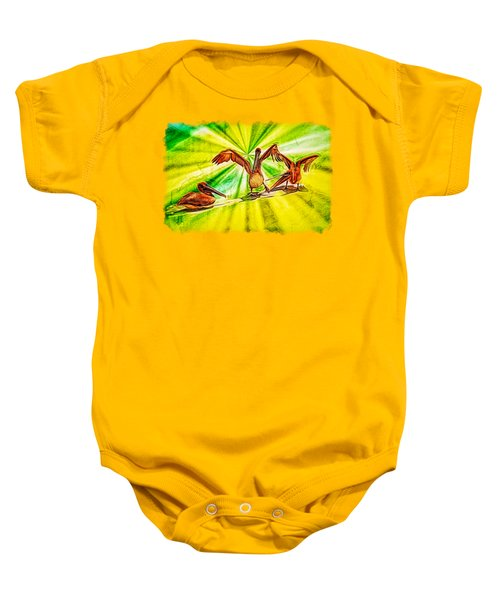 It's All Good Baby Onesie by John M Bailey