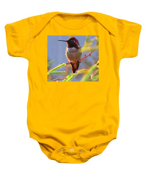 Little Jewel With Wings Sixth Version Baby Onesie