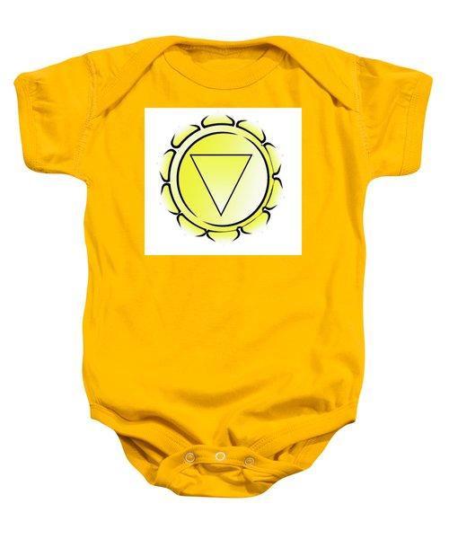 Manipura Chakra Baby Onesie
