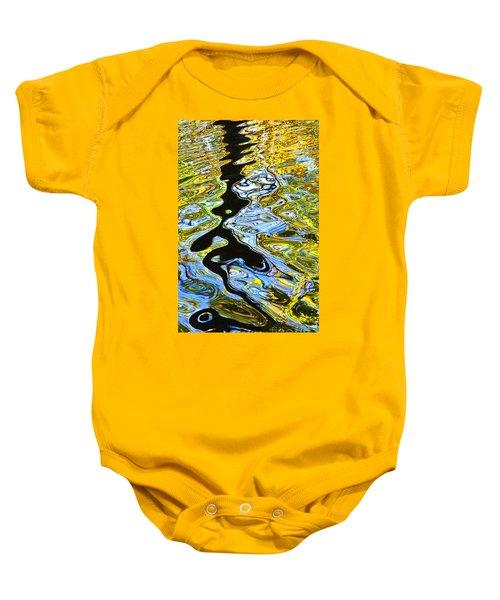 Mill Pond Reflection Baby Onesie