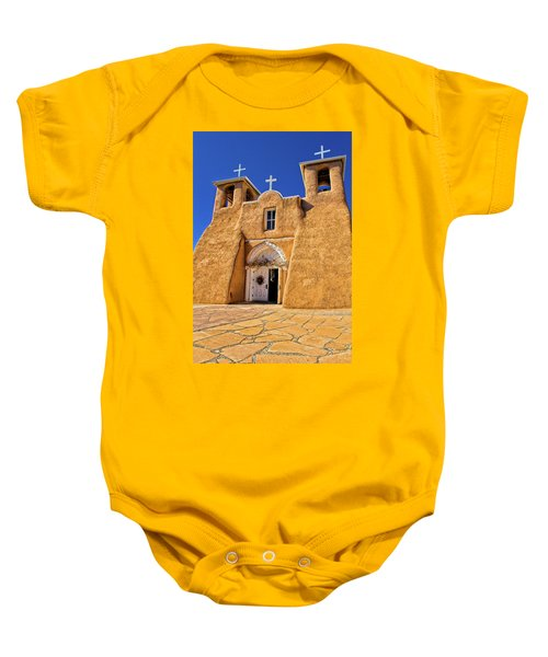 Ranchos De Taos Church  Baby Onesie