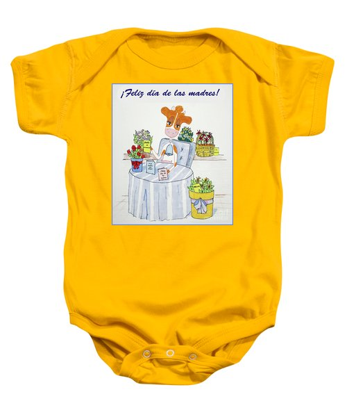 Spanish Moothers Day 2 Baby Onesie