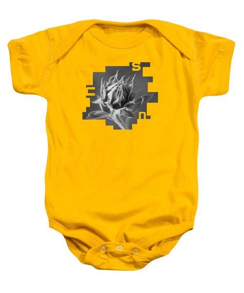 Sunflower Baby Onesie by Konstantin Sevostyanov