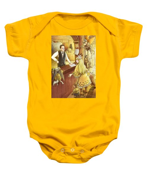 Tammy And The Postmaster Baby Onesie