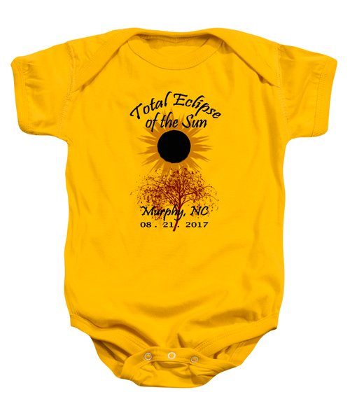 Total Eclipse T-shirt Art Murphy Nc Baby Onesie