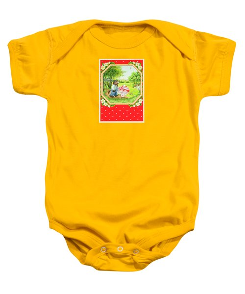 Valentine Delivery Baby Onesie by Lynn Bywaters