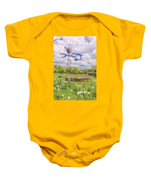 Wind And Water Baby Onesie