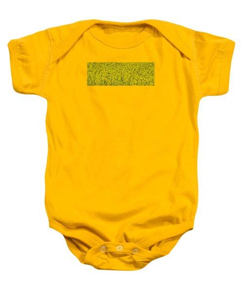 Yellow Baby Onesie