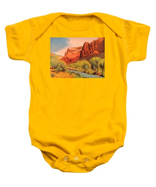 Zion Canyon Baby Onesie