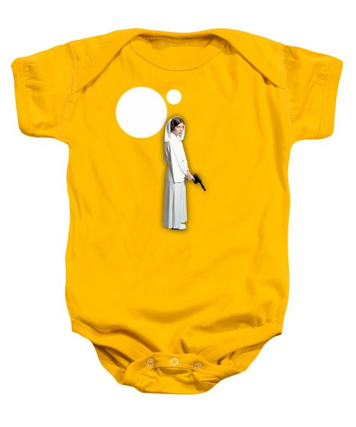 Star Wars Princess Leia Collection Baby Onesie by Marvin Blaine