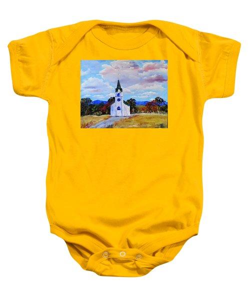 #17 St. Johns Historic Church On Hwy 69 Baby Onesie