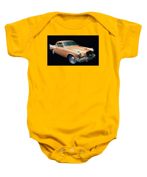 1957 Studebaker Golden Hawk Digital Oil Baby Onesie