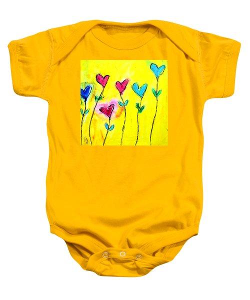 Amor De Colores Baby Onesie