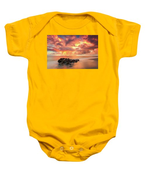 Florida Sunrise Baby Onesie