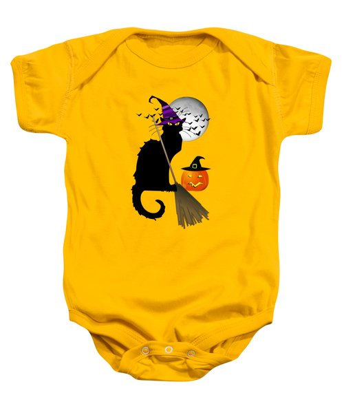 Le Chat Noir - Halloween Witch Baby Onesie