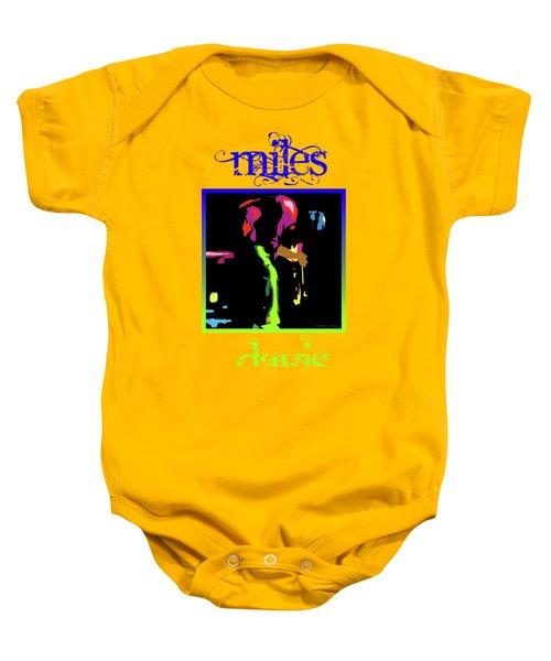 Miles Davis Baby Onesie