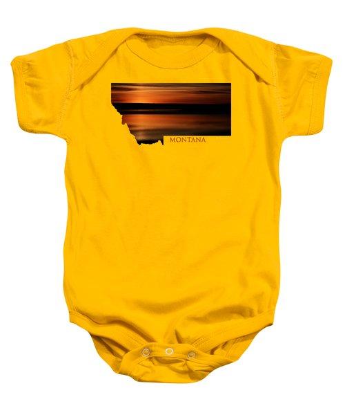 Montana- Sunrise Baby Onesie