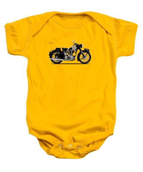 Norton Es2 1947 Baby Onesie
